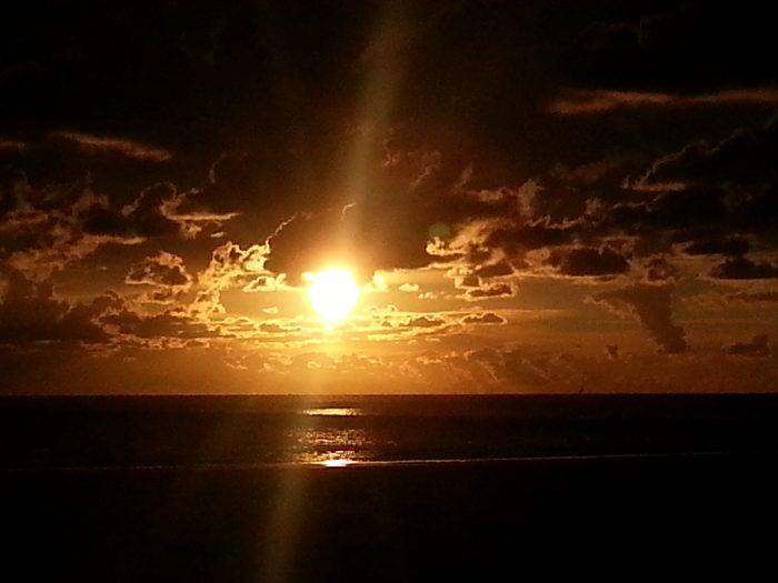 Sunset over Seaport Beach Resort @ IJmuiden