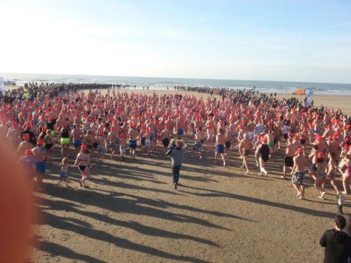 New Year's Dive @ IJmuiden aan Zee